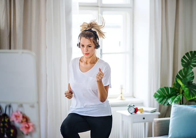 At-Home Exercising Tips